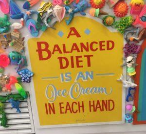 Ice Cream Balanced Diet