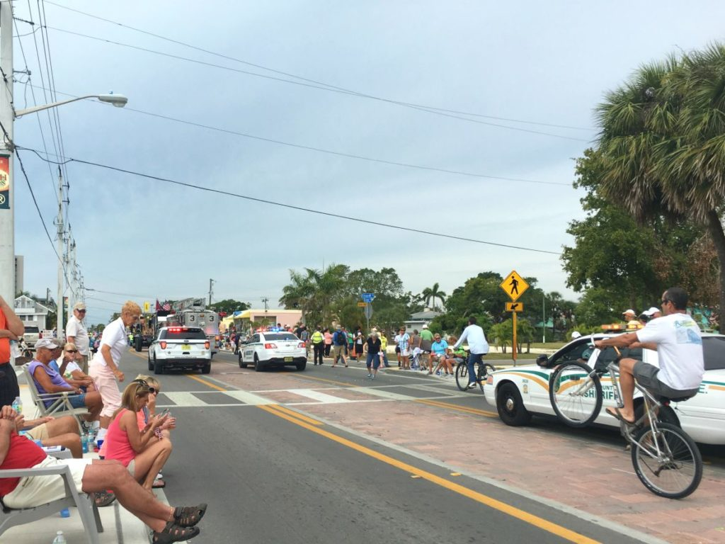 End of Shrimp Festival Parade