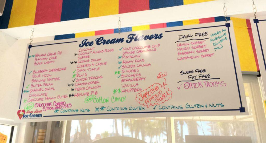Ice Cream Flavor Selections