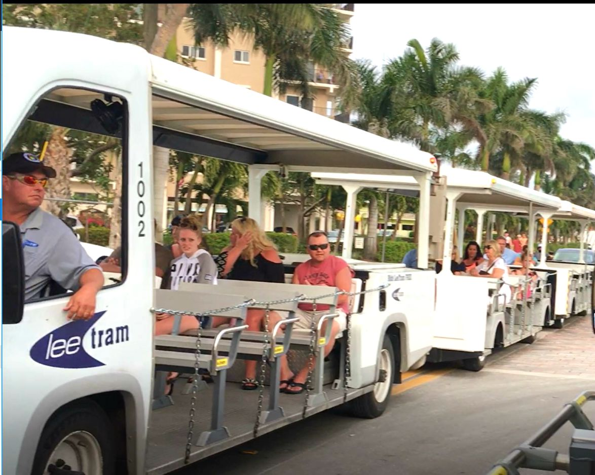 Free Fort Myers Beach Tram