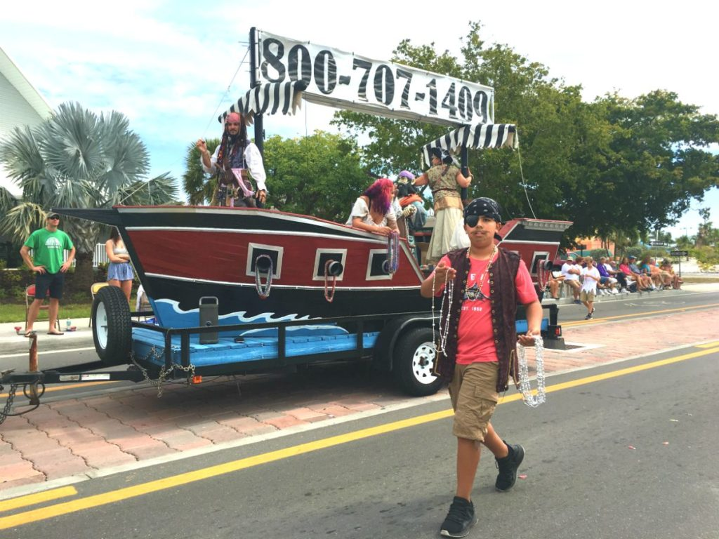 Pirate Parade Float