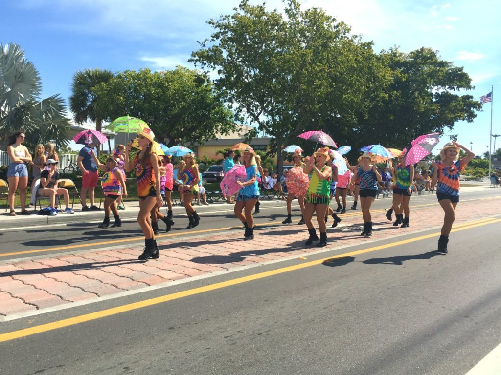 Rainbow Marchers in Parade