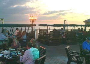 Sunset at Sun Deck Restaurant