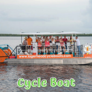 Lagerhead Cycleboat Tours in Fort Myers Beach, Florida