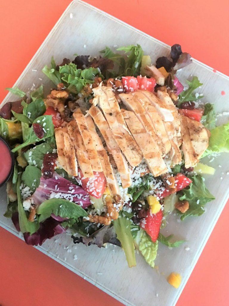 Sanibel Summer Salad with Grilled Chicken