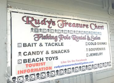 Rudy's Treasure Chest on Fort Myers Beach Pier