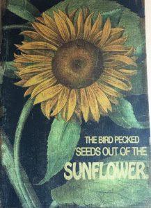 Sunflower Cafe Wall Print