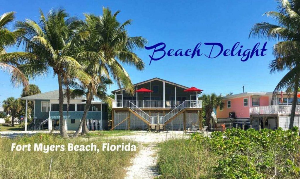 Beach Delight on The Gulf of Mexico is in Fort Myers Beach, Florida