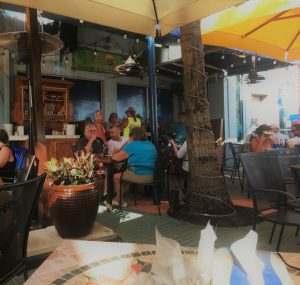 La Ola Surfside Restaurant - outdoor eatery