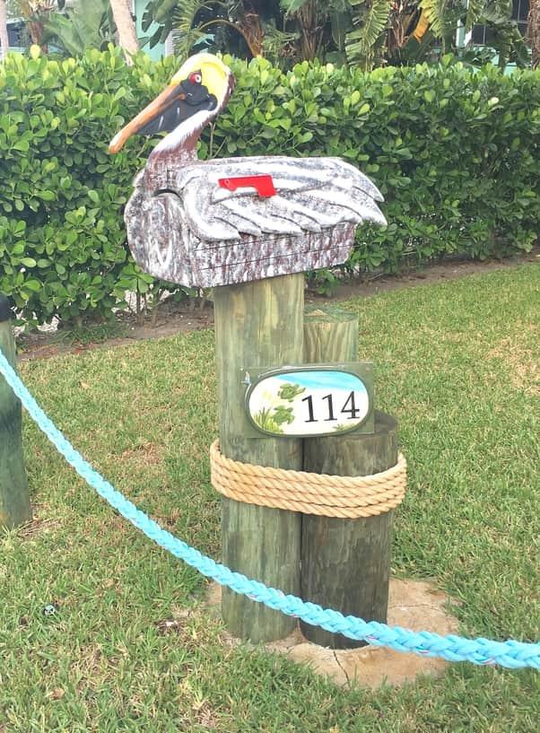 Pelican Mailbox