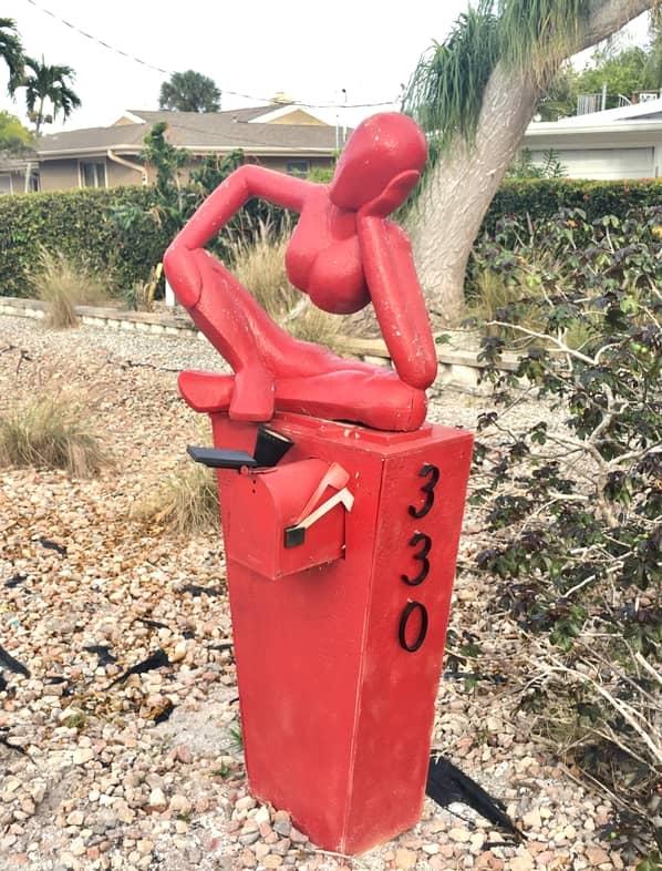 Modern Art Mailbox