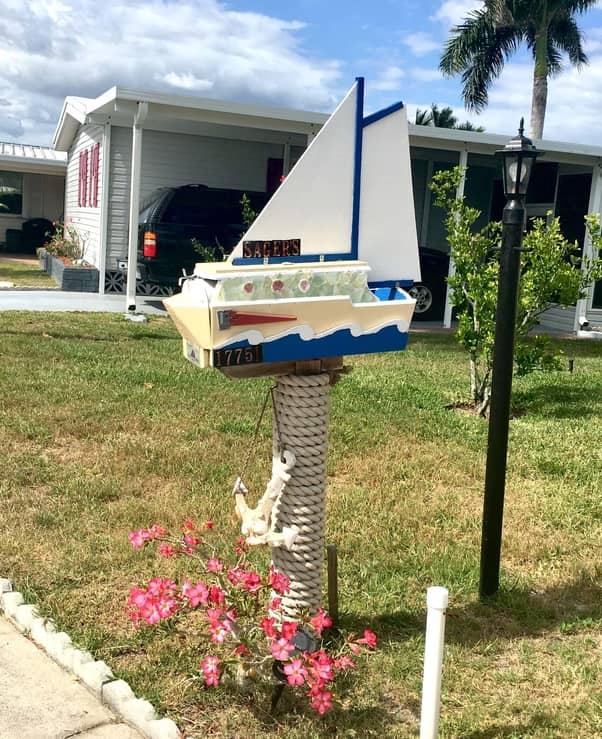 Sailboat Mailbox