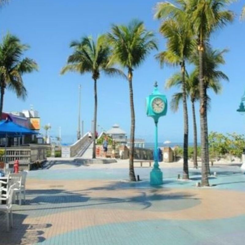 Times Square in Fort Myers Beach, Florida