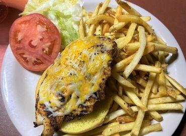 Pete's Time Out Restaurant Cajun Chicken Sandwich