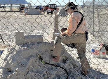 Sand Sculptor at Work