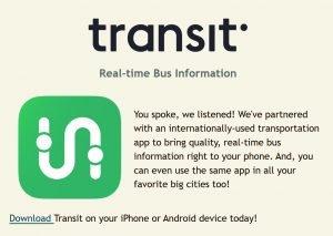 Leetran Transit App