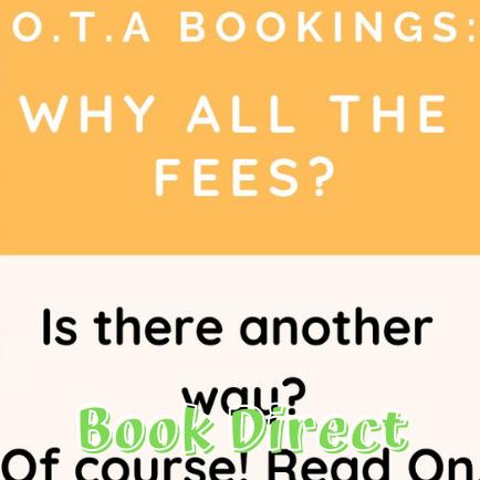 Avoid Online Travel Agencies (OTA's)
