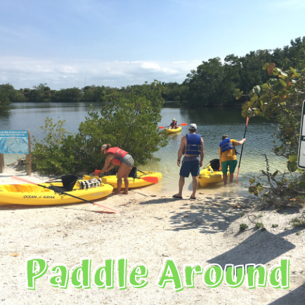 Rent Kayaks at Lovers Key State Park