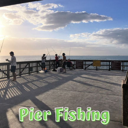 Fishing on Fort Myers Beach Pier