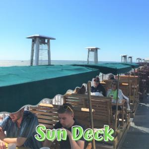Sunset Deck Swing Dining at Lani Kai