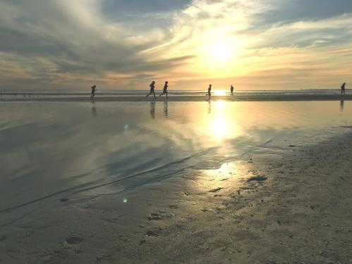 Running in the Gulf of Mexico