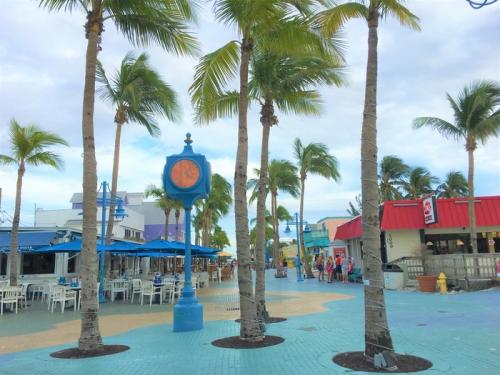 Times Square in Fort Myers Beach, FL